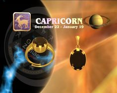 Capricorn GARNET rings buy online at Teleskyshopping