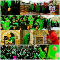 Labayak Ya Ruqqiya Festival in Imam Ali Holy Shrine   #5Safar1437