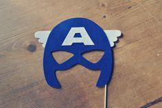 mascara de super heroi