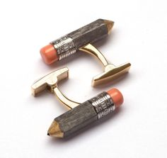 "Vladimir Markin. Cufflinks ""Pencils"""