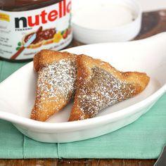 1era parte de recopilación de 50 recetas con nutella (en inglés)
