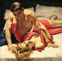 trendy ideas vintage love art pin up Romance Art, Vintage Romance, Vintage Love, Vintage Art, Pulp Fiction Art, Pulp Art, Serpieri, Robert Mcginnis, Retro Art