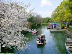 普通に花見をするのもよかけど柳川で川下りをしながら見る桜は格別バイ 桜と同じ時期に梅も咲くからピンクのグラデーションが綺麗かぁ 船頭の舟歌をBGMに風情たっぷりに町めぐりをしてみるとよかよ()/ tags[福岡県]