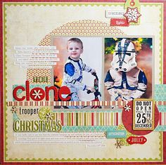 Scrapbook Page from Ginger Williams Scrapbook.Com Gallery using Echo Park.  I love this line and Ginger is extremely talented
