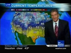 A very funny video of Dave Schwartz explaining a harsh cold snap to the eastern half of the country. Very Funny Gif, Big Chill, The Weather Channel, Sunday Night, Tv, People, Youtube, Television Set, People Illustration