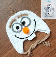 Crochet Olaf Hat on Pinterest Frozen Crochet Hat, Olaf ...