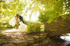 """Sweep Her Off Her Feet""  #vintageweddings #outdoorceremonies #gardenparty #KCweddings #loveinthegarden #wedding venues #outdoorwedding  www.thekellygallery.com"