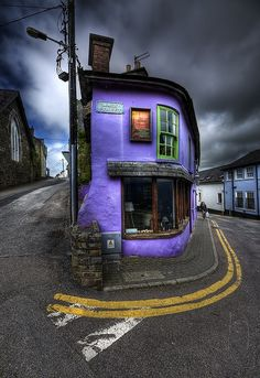 "Probably my favorite place (that exact spot where he took the photo) in Kinsale. ""Main Street"" by Gerry Chaney. Photo taken April 2011 in Kinsale, Cork, IE, (Ireland) using a Nikon Oh The Places You'll Go, Places To Travel, Places To Visit, Travel Destinations, Beautiful World, Beautiful Places, Amazing Places, Beautiful People, Magic Places"