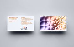 Getner is a payroll management company focused on the Latin American market. Their new identity, designed by Anagrama, fuses a simple logo-type and flag like logo-mark solution to characterise a personal service delivered to big business.