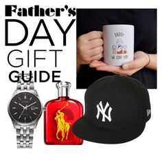 """Untitled #75"" by kitchqueen on Polyvore featuring GLB Graphics, Ralph Lauren, New Era, Citizen, men's fashion, menswear and fathersdaygiftguide"