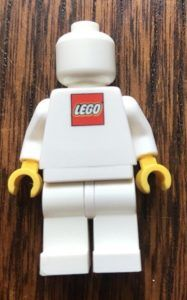 Rare Lego Blank Employee Business Card Minifigure Front And Back Minifigure Price Guide Rare Lego Mini Figures Lego