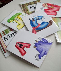 Printable Letter Factory video cards. This video is one of the easiest ways to learn letter sounds