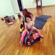 Do you like burritos? How about Yoga Burritos? Brittny taught Kids Yoga classes in NC!