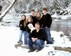 Tons of poses for Winter family pics