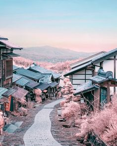 Japan is full of captivating countryside landscape. This charming town is so lovely and divine. Aesthetic Japan, Japanese Aesthetic, Travel Aesthetic, Places To Travel, Places To Visit, Japon Tokyo, Shotting Photo, Japan Landscape, Japon Illustration