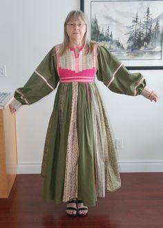 folkwear 107 afghan nomad dress - Google Search
