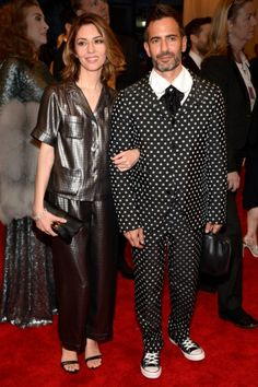Vogue Daily — Sofia Coppola in Marc Jacobs; Marc Jacobs in Comme des Garçons. Seriously!