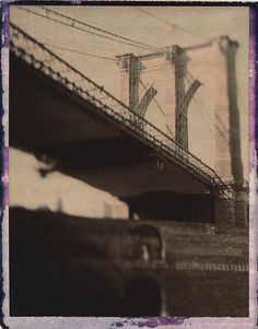 New York Bridges #2 by Peter William Knight