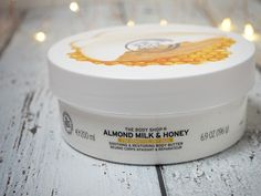 Body Shop Almond Milk & Honey Range The Body Shop Almond MilkThe Body Shop Almond Milk Body Shop At Home, The Body Shop, Body Shop Body Butter, Dry Sensitive Skin, Milk And Honey, Skin Care, Face Care, Blog Tips, Almond Milk