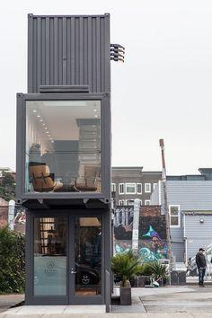 dca9ac1f6d23462dea4dc0282167b01f Ideias: Casas e construções feitas com containers arquitetura construcao container design fotos novidades sustentabilidade-2