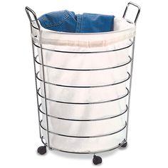 7 melhores imagens de Ideias lavanderia | Cesto de roupa