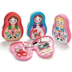 Russian Doll Sewing Kit (Pick 1 color)