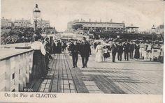 Clacton Pier, 1906.
