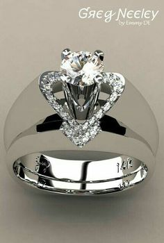 Greg Neeley Jewelry Collection ♦ Amazing Diamond Rings ♦ High Jewelry Design ♦ Wedding and Engagement Sets ♦ Start your pin adventure NOW! Diamond Jewelry, Jewelry Rings, Jewelery, Jewelry Accessories, Fine Jewelry, Jewelry Design, Jewelry Sets, Silver Jewelry, Gold Jewellery
