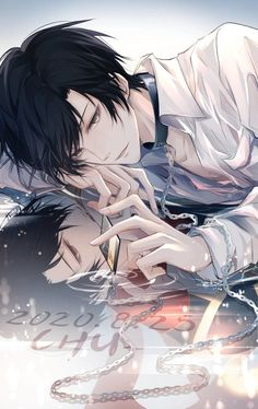 Anime Boys, Dark Anime Guys, M Anime, Cool Anime Guys, Hot Anime Boy, Anime Art Girl, Kawaii Anime, Anime Black Hair, Black Haired Anime Boy