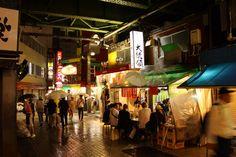 Tokyo - Les petites ruelles proches de la gare de Ueno.