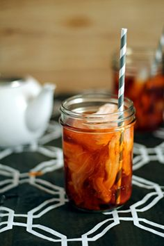 How to make Thai Iced Tea at home - with a link to the tea mix on Amazon