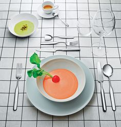 Modern Cutlery by Inga Sempé for Alessi