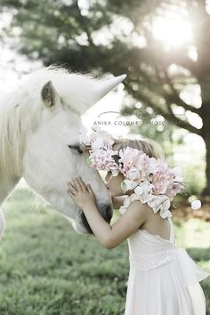 Whimsical Unicorn Session by Anika Colombo Photography on Whim Online Magazine