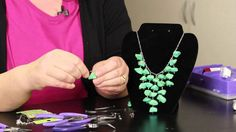 cool DIY Bijoux - Step-by-Step Directions for Making Stone Necklaces #Beading #Jewelry #Tutorials...