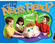 What's In Ned's Head? by Poof-Slinky, Inc. - $22.95