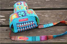 Camera Shape Bag | Gehäkelte Kameratasche by #stitchydoo | #häkeln #crochet #haken