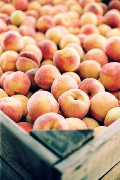 Peaches. The Outer Banks from Elaine Palladino   elainepalladino.com, Read more - http://www.stylemepretty.com/living/2013/06/20/the-outer-banks-from-elaine-palladino/