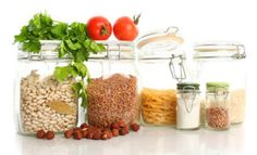 Healthy pantry foods (plant-based)