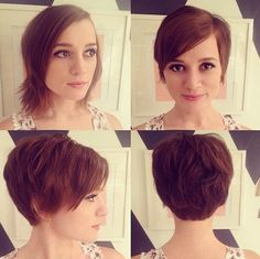 Cute Pixie Hair Cut for Spring and Summer - Short Haircuts 2015