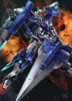 Gundam 00, Gundam Wing, Anime Fantasy, Fantasy World, Real Robots, Mecha Suit, Gundam Wallpapers, Mecha Anime, Ayato