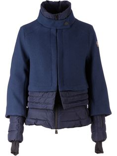 Shop Moncler Grenoble layered padded jacket in L'Eclaireur from the world's best independent boutiques at farfetch.com. Over 1000 designers from 300 boutiques in one website.