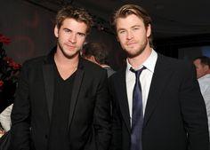 The Hemsworths. *drool*
