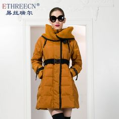 New cotton padded clothes long cultivate one's morality show thin cotton wadded jacket cotton padded coat