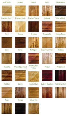 Hardwood Colors All The Cheat Sheets You Need To Redecorate Your Home • Page 3 of 5 • BoredBug