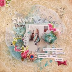 Dt Mid-month Reveal for SCRAP AROUND THE WORLD's September challenge!
