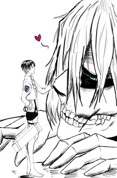 levi x eren yaoi | Eren titan x Levi by LadyDragneel Omg I totally ship these two so cute!!!