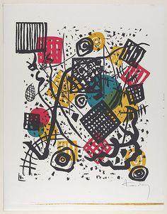 Vasily Kandinsky | Kleine Welten V (Small Worlds V) | The Met