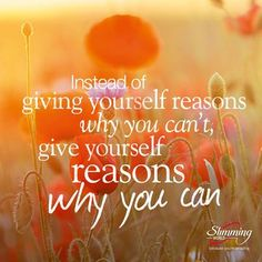 Thought for the day. Slimming world. Weight loss motivation
