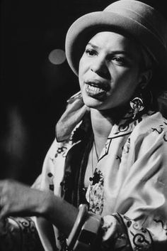 Weekly Women in History Pictures: A African American Poet & Playwright Ntozake Shange, 1977