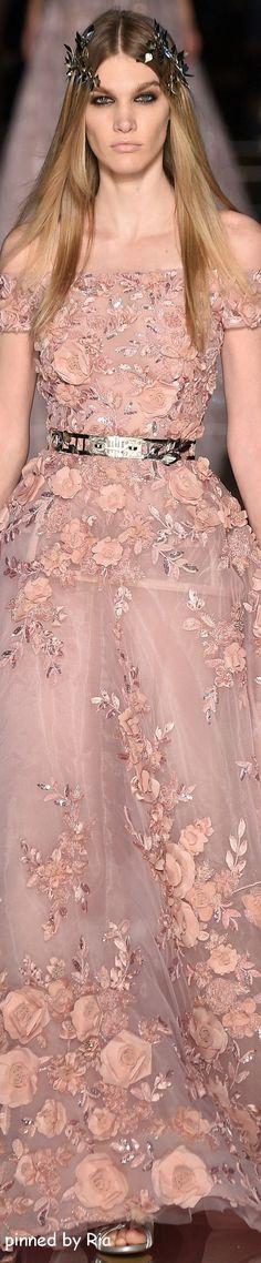 Zurhair Murad Spring 2016 Couture l Ria